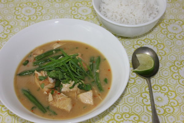 West African Peanut Chicken Soupy Curry