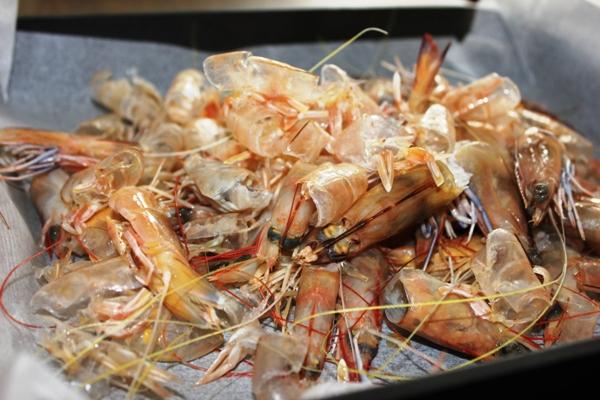 prawn-shells