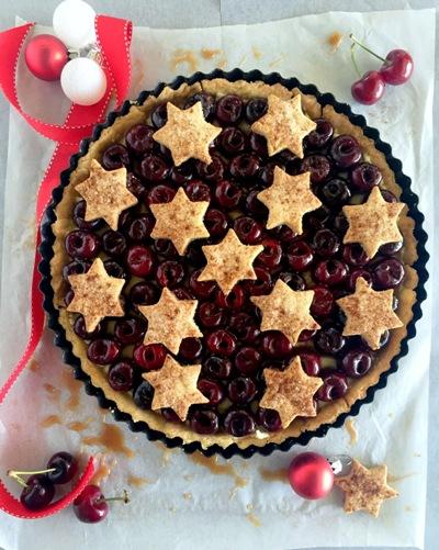 cinnamon-cherry-tart