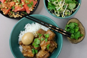 Vietnamese Coconut Pork Belly and Egg Stew with Aussie Farmers Direct